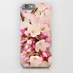 cherry+blossoms+with+typography+iPhone+&+iPod+Case+by+Sylvia+Cook+Photography+-+$35.00