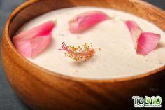 DIY hibiscus yogurt hair mask
