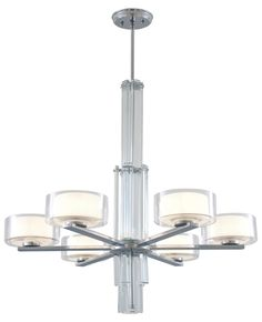 Gatsby 6 Light Crystal Chandelier