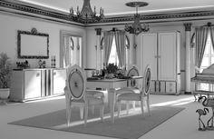 Fantastic Dining Room.   PGK Studio