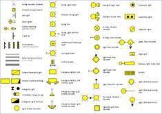 Pict Electrical Outlet Symbols Design Elements Outlets 640438