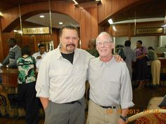 Randy and I just before heading out to climb Kilimanjaro...