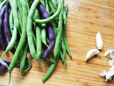 """""""Mom, I really need more garlic green beans."""" Requests for vegetables make me want to do a little dance, cheer, and somersault all at once. It's no mistake that I call these perfect green beans.I ..."""