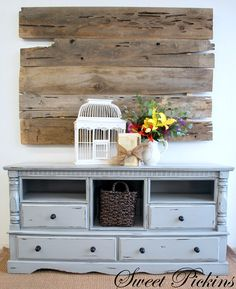 want this for a buffet in my dining room - it's an old dresser.