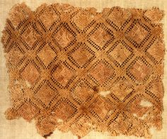 Embroidered textile fragment, Germany, 12th-13th century