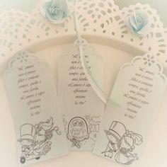 Segna libro con frasi e disegni a scelta per ogni tipo di evento