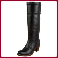 Frye Jane 77233 Schlupfstiefel Leder black, Groesse:38.5 - Stiefel für frauen (*Partner-Link)