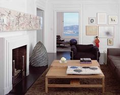 This Apartment makes me miss Interiors SO much... Russian Hill Apartment by Kuth Ranieri Architects; San Francisco.