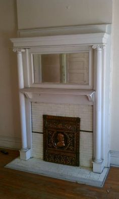 dress style 1890 fireplace