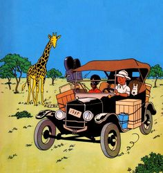 Stars and Cars - Tintin