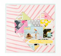 Project Ideas for American Crafts - Dear Lizzy Collection - Happy Place - 12 x 12 Acetate Paper - Say Yes