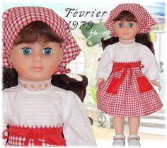 ATELIER ARIANNE: Vêtement pour poupée Modes et Travaux Marie Françoise ou Françoise Février 1979