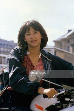 Actress Sophie Marceau On Set Of Movie 'La Boum' Directed By Claude Pinoteau, Paris, 1980.