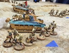 Gaming with TooFatLardies: Desert Campaign # 5: The Empire Strikes Back & Grand Finale