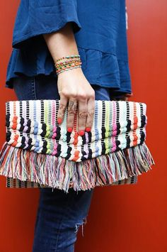 *Sneak Peek* We couldn't wait any longer to show you stunning Taj Clutch! The perfect pop of color to brighten up any look! #stelladotstyle #sdsneak