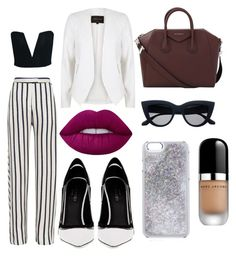 """""""Мяу"""" by lizi-cosmos on Polyvore featuring мода, Nicholas, Greymer, River Island, Givenchy, Lime Crime и Marc Jacobs"""