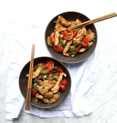 Chinese Jalapeño Chicken – The Defined Dish - Add Kale, Basil to finish Paleo Whole 30, Whole 30 Recipes, Paleo Recipes, Dinner Recipes, Paleo Ideas, Recetas Whole30, Beef Enchiladas, Chicken Bacon, Rotisserie Chicken