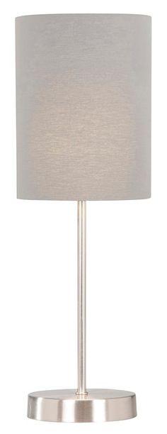 Grijze tafellamp Lisse | #leenbakker