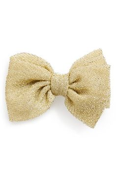 PLH Bows & Laces Sparkle Bow on Clip (Baby Girls) available at #Nordstrom