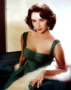 """""""Pour Yourself a Drink, Put on Some Lipstick and Pull Yourself Together"""" - Elizabeth Taylor.  Gorgeous photo, dress, everything!"""