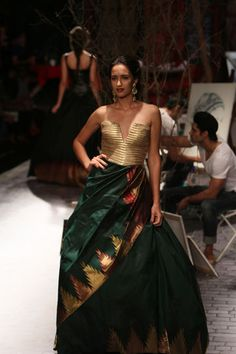 Sagar Ahuja/Vogue Traditional Sarees, Traditional Looks, Vogue Wedding, Maxi Gowns, Dresses, Vogue India, Indian Couture, Culture, Couture Week