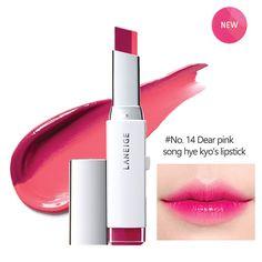 Laneige Two Tone Lip Bar Lipsticks Korean Kbeauty Makeup [14 Deer Pink] #Laneige