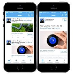 """Twitter officially announced the long-rumored """"Buy"""" button for its mobile apps."""