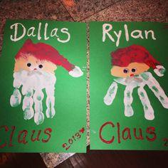Santa hands