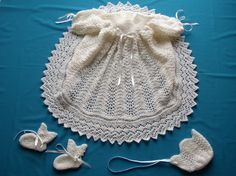 Ribbons & Lace Christening Gown PDF Pattern. $5.50, via Etsy.