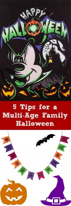 5 Tips for a Multi-Age Family Halloween - how to handle a big age gap during Halloween Disney Halloween Costumes, Halloween Movies, Halloween Activities, Halloween Outfits, Scary Halloween, Scream Halloween, Halloween This Year, Family Halloween, Disney Diy