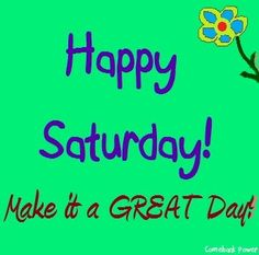 Happy Saturday! via Comeback Power at www.Facebook.com/CancerDuckIt and www.ComebackPower.com