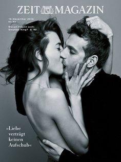 """Liebe verträgt keinen Aufschub"" Cover from ZEIT MAGAZIN, Dezember 2013"