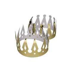 Goldtone Crowns - Missy, I ordered 2 dozen of these for the boys and random people.  OrientalTrading.com
