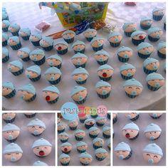 #pastelicious #cupcakes #babyshower