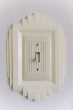 Art Deco Bakelite Switch Plate