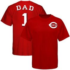 Majestic Cincinnati Reds Father's Day T-Shirt