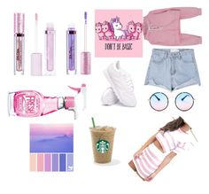 """""""Untitled #45"""" by april-milan on Polyvore featuring beauty, Lime Crime, Reebok, Betsey Johnson, Moschino and Seed Design"""