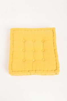 Tufted Corduroy Floor Pillow  #UrbanOutfitters