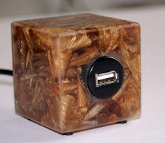 USB -SpäneWürfelKlotz von falkone via dawanda.com