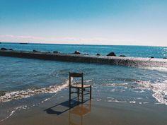 #sea #chair #beach #beautiful #anzio #italy