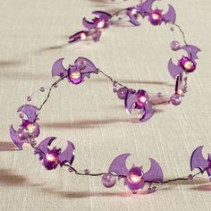 Pier 1 Imports Purple Bat 10' LED Glimmer Strings®