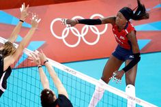 Destinee Hooker and the top-ranked US women's volleyball team