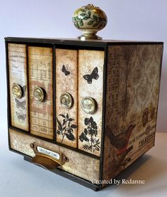 Redanne: A Mini Storage Box .....