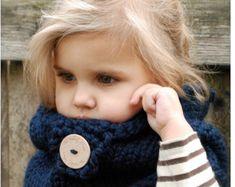 Knitting PATTERN-The Boston Cowl Toddler Child by Thevelvetacorn