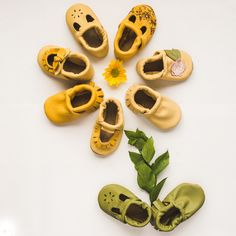 SS 2017- so many beautiful colors & lots of neutral colors in high-quality leather baby shoes & moccasins. StarryKnightDesign.com
