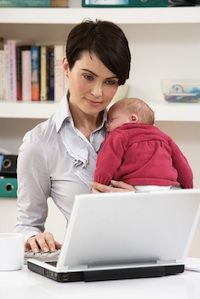 It can be very difficult for a new mom to return to work when her maternity leave is over, and there is a great mix of emotions that accompany this transition.