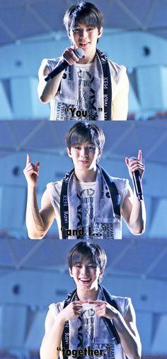 Hahaha no thank you hongbin(: go away(: