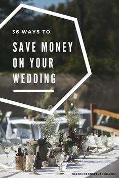 Ways to save money on your wedding | Budget wedding tips | How to have a cheap wedding | Tips for saving money at your wedding | Money saving tips for weddings | How to save money on your wedding | Wedding budget tips | Wedding hacks | Hacks for wedding | Saving money on my wedding #wedding #savingmoney #frugal #DIY