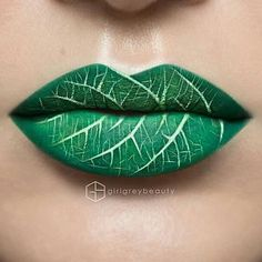 Canadian makeup artist Andrea Reed turns lips into amazing pieces of art.