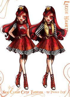 ever after high posts - the Art Of Prince Ivy Lizzie Hearts, Queen Of Hearts, Descendants, Ever After High Rebels, Princess Inspired Outfits, Regal Academy, Personajes Monster High, Ever After Dolls, Monster High Characters